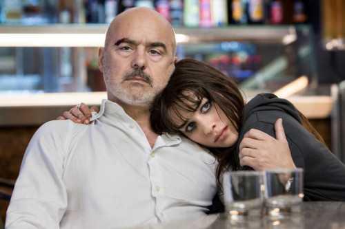 Perez, con Simona Tabasco, al Cinema