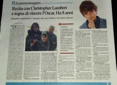 Intervista a Edoardo Tarantini