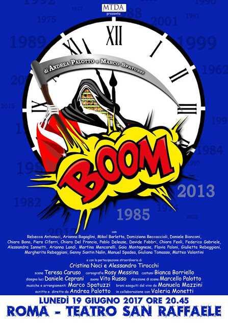 Boom! al Teatro San Raffaele di Roma